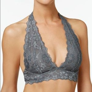 Free People Intimately GalloonLace Halter Bralette